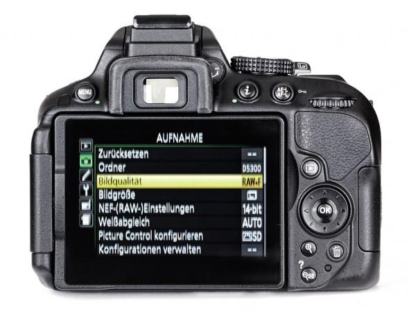 Das Menü der D5300 ist sehr umfangreich und bietet eine Vielzahl von Einstellmöglichkeiten.