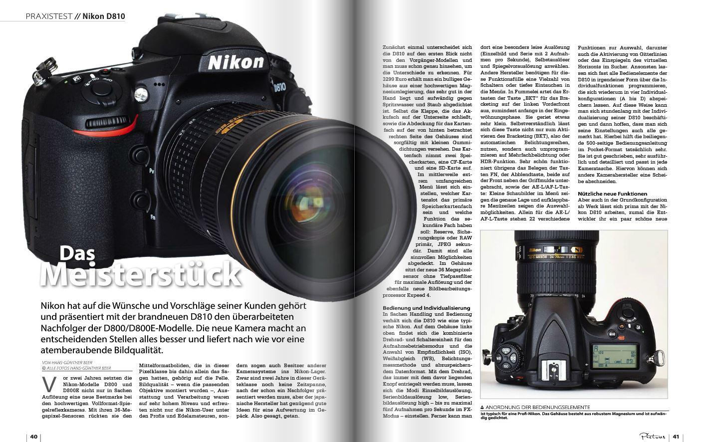 Ausgezeichnet Nikon Vollformat Kamera Liste Bilder - Rahmen Ideen ...