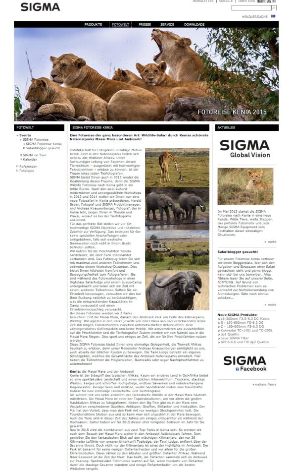 Sigma Safari