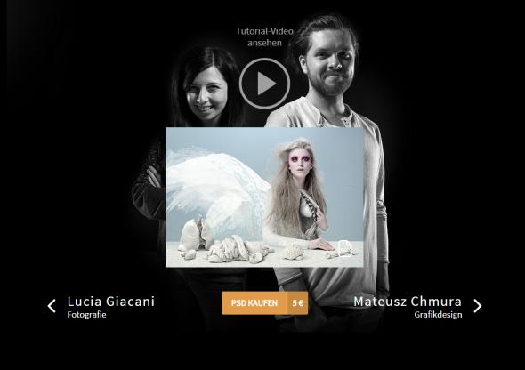 """""""Clean Inside"""" von der italienischen Modefotografin Lucia Giacani und dem polnischen Digitalkünstler Mateusz Chmura stellte zwei Monate später die provokante Frage, wie weit wir für den perfekten Körper zu gehen bereit sind."""
