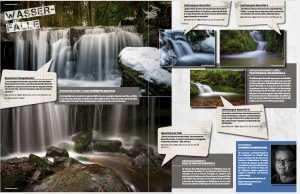 """Thema """"Wasserfälle"""", Pictures Ausgabe 07-08/2015"""