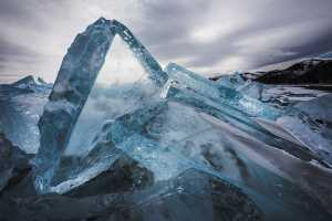 Baikal Ice Chunks