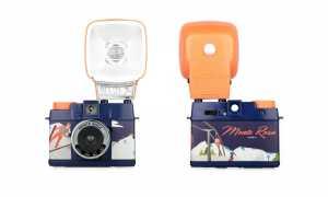 DIANA MINI MONTE ROSA EDITION Fotografieren Sie Quadrate oder Halbformat auf 35mm Film mit dieser niedlichen neuen Winteredition!