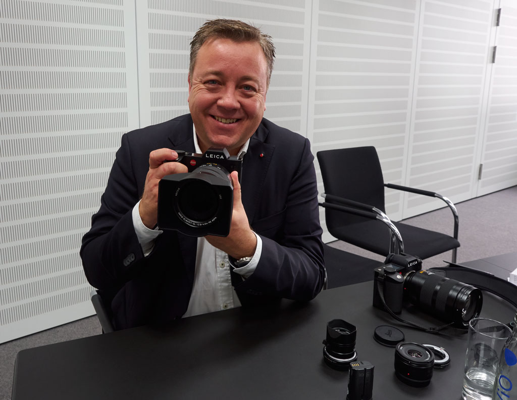 Srefan Daniel ist Director Product Managament Photo bei Leica in Wetzlar.