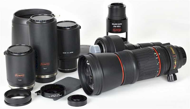 PRAXISTEST - Kowa Prominar Telephoto Lens
