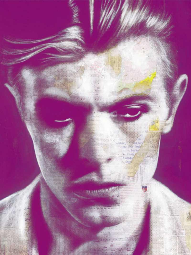 David Bowie © André Monet, www.lumas.com_web