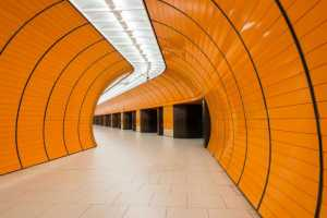 Marienplatz underground station in Munich, Germany. @ diyanadimitrova - Fotolia.com