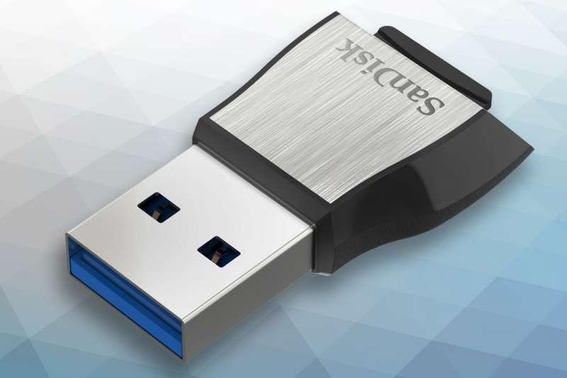 SanDisk_Extreme microSD UHS-II_microSD Reader_Left Angle_web