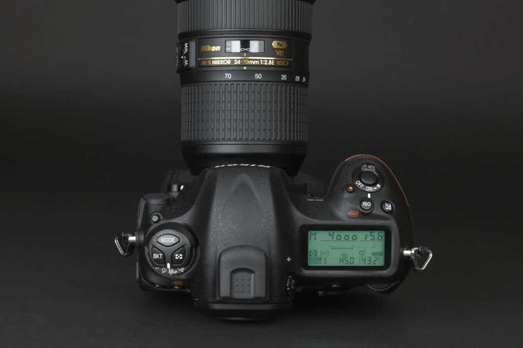 Auf den ersten Blick unterscheidet sich die Nikon D5 kaum von den Vorgängern. Die Bedienungsphilosophie hat sich bewährt.