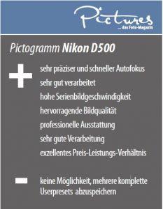 PRAXISTEST: NIKON D500 (Ausgabe 07/2016)