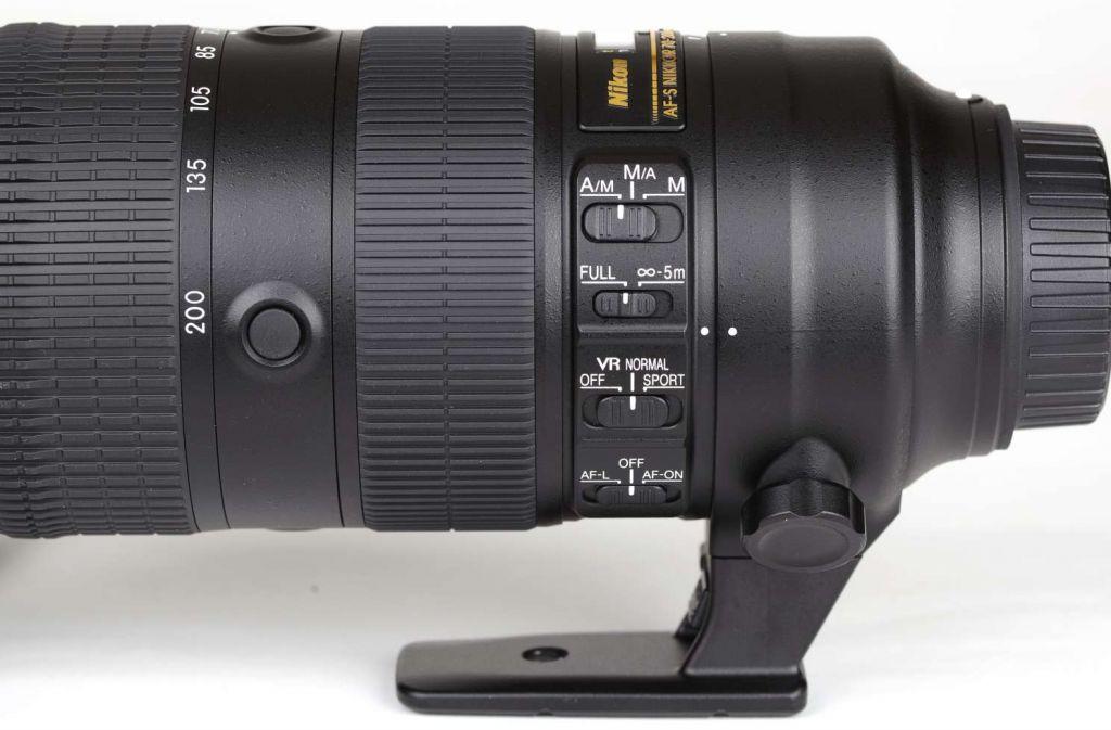 Die Verarbeitung ist Nikon-typisch sehr gut, die Einstellmöglichkeiten sind vielfältig.