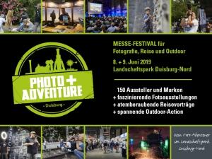 Gewinnen Sie eins von zwei Photo+Adventure-Ticket-Paketen