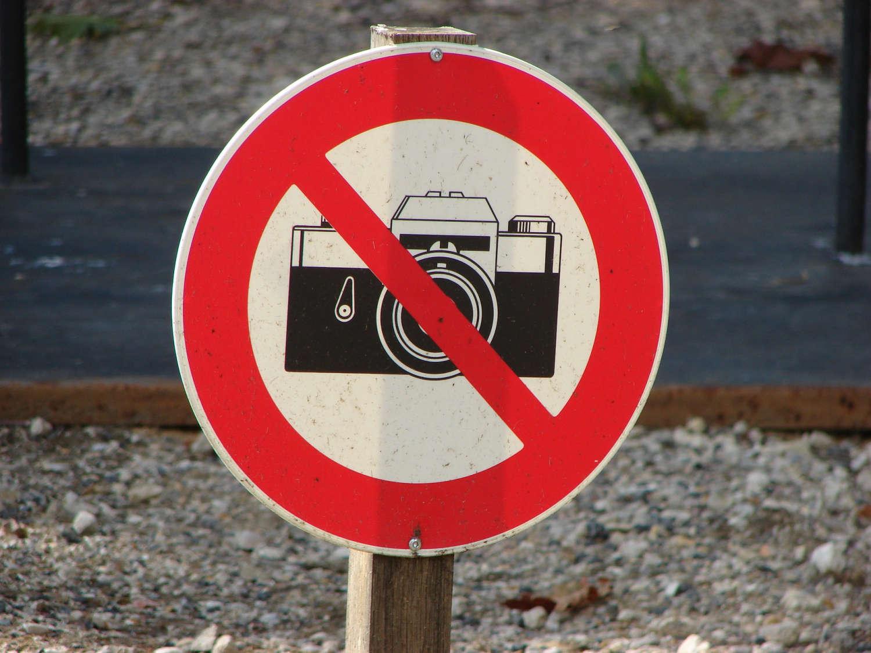 Der Kommentar: Fotografieren Verboten von Wolfgang Baus