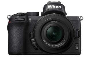 Die neue spiegellose Nikon Z 50 mit DX-Sensor