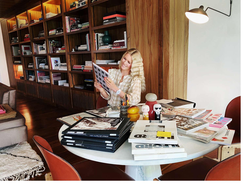 Claudia Schiffer, 2020, Foto: Lucie McCullin