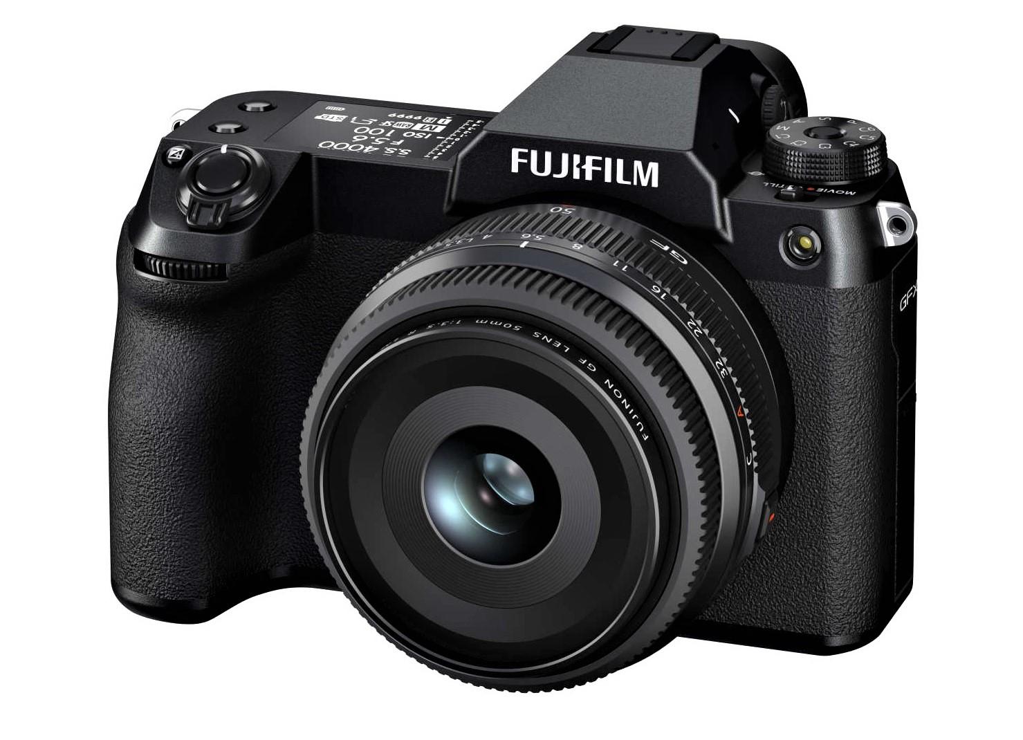 Die neue FUJIFILM GFX100S – Kompakte spiegellose Systemkamera mit großformatigem 102-Megapixel-Sensor