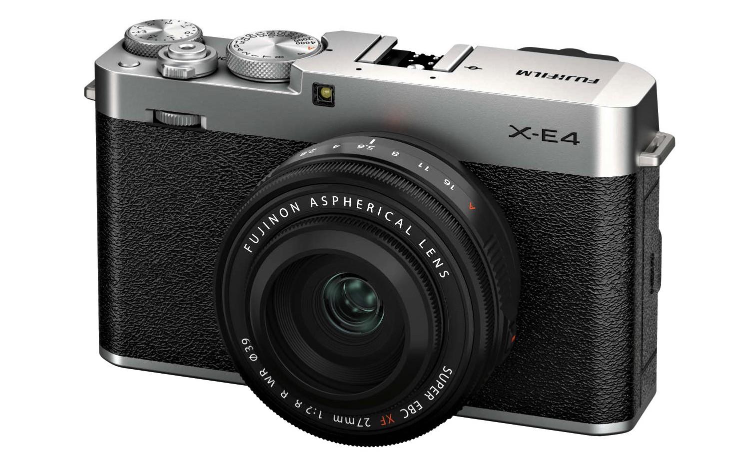 FUJIFILM X-E4 – Die kleinste und leichteste Systemkamera der X Serie