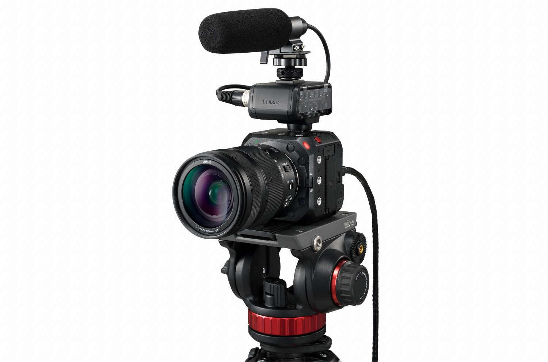 Neue spiegellose Vollformat-Box-Style-Kamera LUMIX BS1H